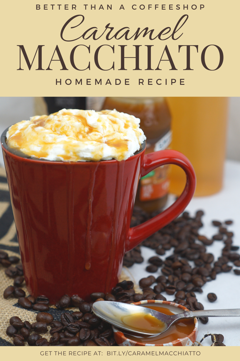 Homemade Caramel Macchiato Recipe