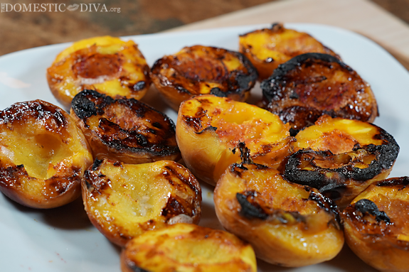 Grilled Peach Parfait plus Summer Grilling Tips