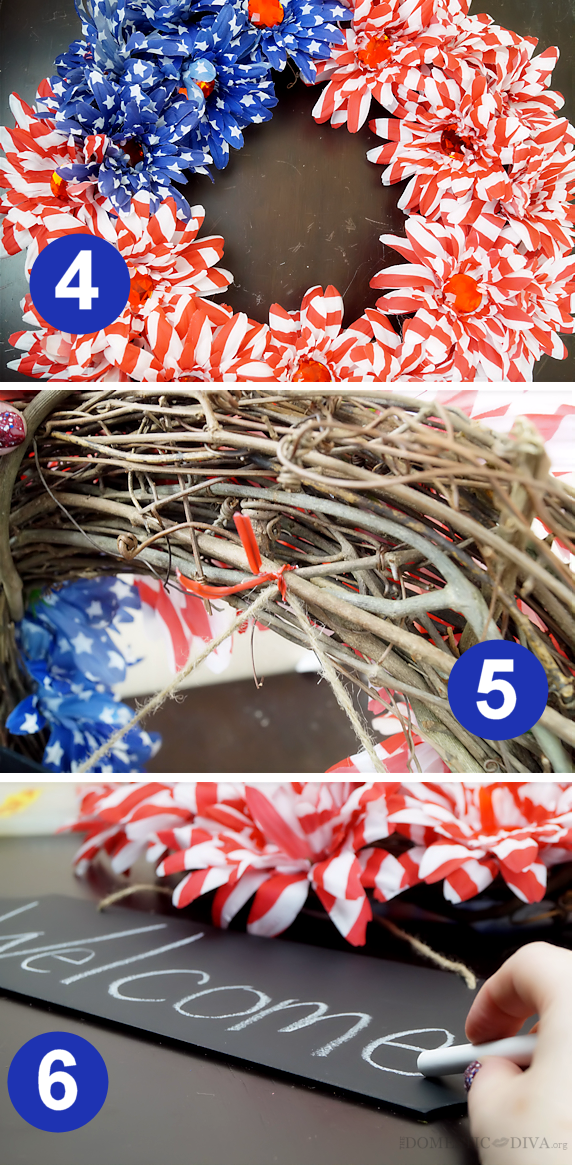 How to Make a Full Flower Wreath