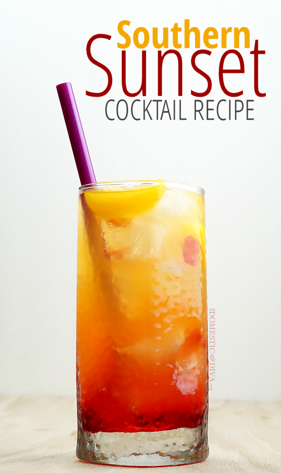 Southern Sunset Cocktail Recipe