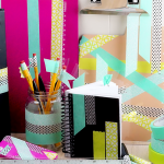 9 back to school supplies to personalize with washi tape