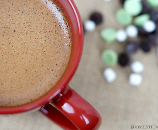 Quick and Easy Pepperming Mocha Latte Microwave Recipe