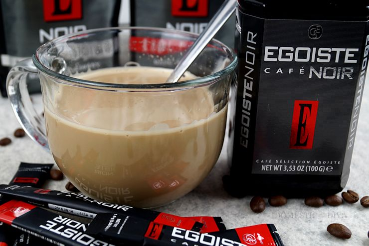 How to Make an Instant Cafe Latte with Egoiste Cafe, Coffee from Germany