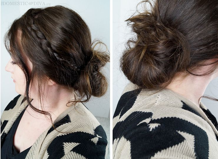 Holiday Makeup and Hair: How to Create a Braided Updo for your next Holiday Party