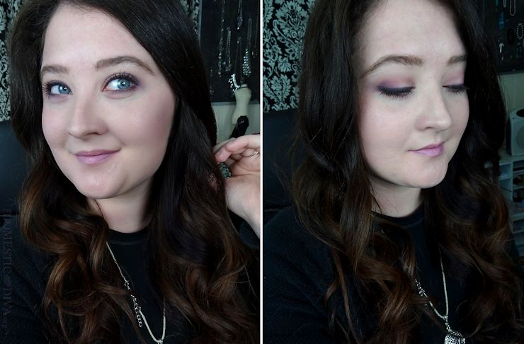 Date Night Makeup Look for Valentine's Day using Cosmetics from Walmart