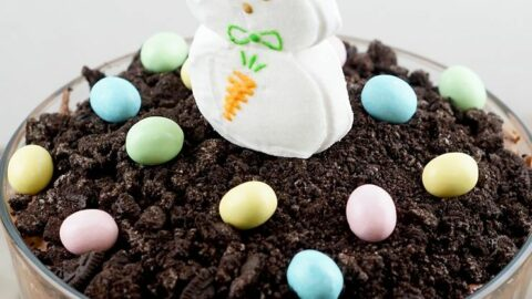 Easter Bunny Dirt Cake Trifle Recipe