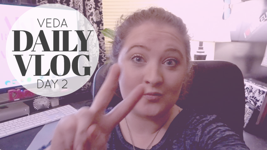 Daily Vlog | VEDA Day 2 - I'm NOT a Morning Person!