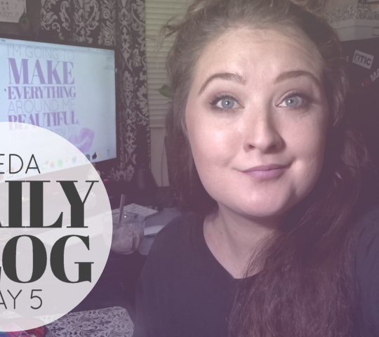 Daily Vlog | VEDA Day 5 – Frozen Custard Love!