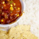 Vegetarian Instant Pot Chili Recipe (Electric Pressure Cooker)