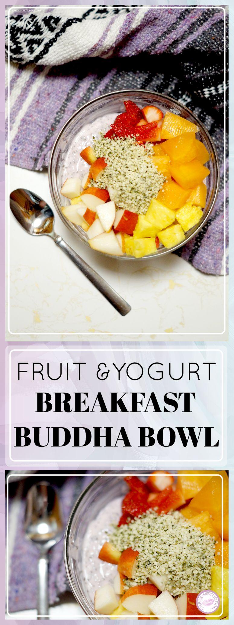 Fruit & Yogurt Breakfast Buddha Bowl recipe
