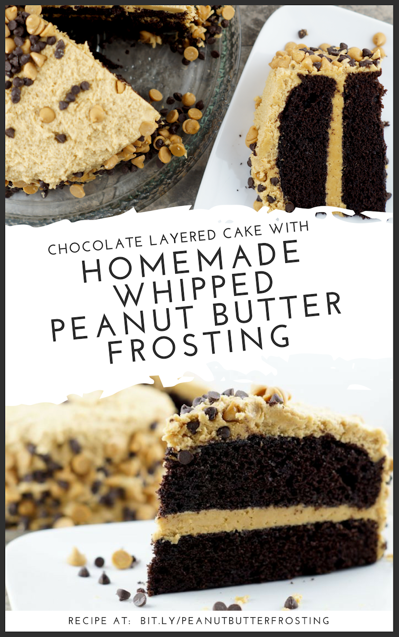 Homemade Whipped Peanut Butter Frosting