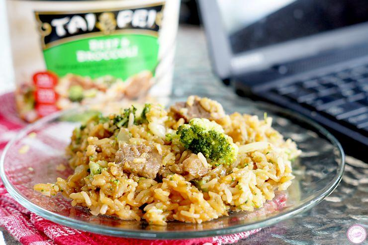 How Mom Does Lunch with Tai Pei Frozen Single Serve Entrees (review plus giveaway)