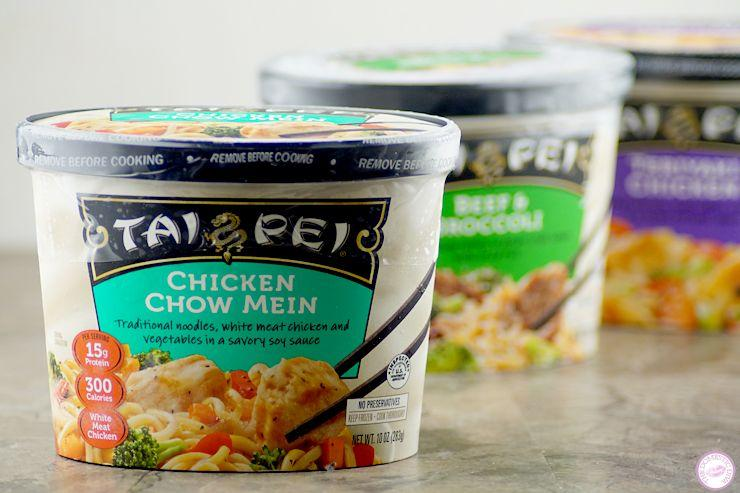 How Mom Does Lunch with Tai Pei Frozen Single Serve Entrees (review plus giveaway_