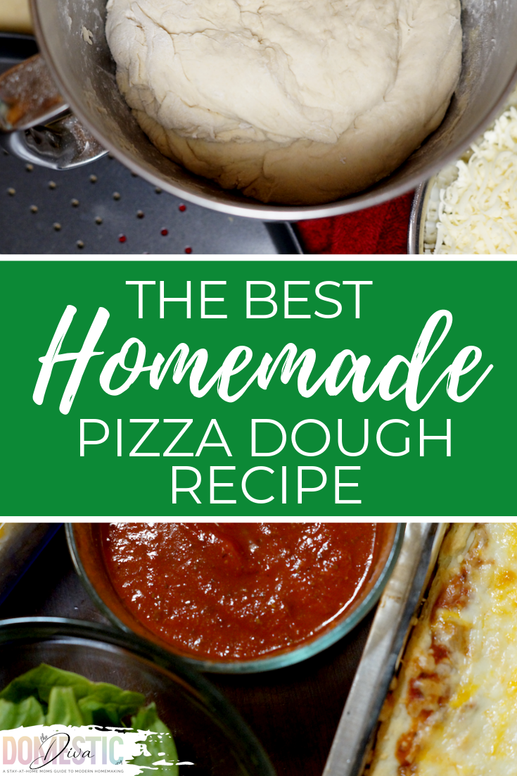 The Best Inexpensive Homemade Pizza Dough Recipe for families