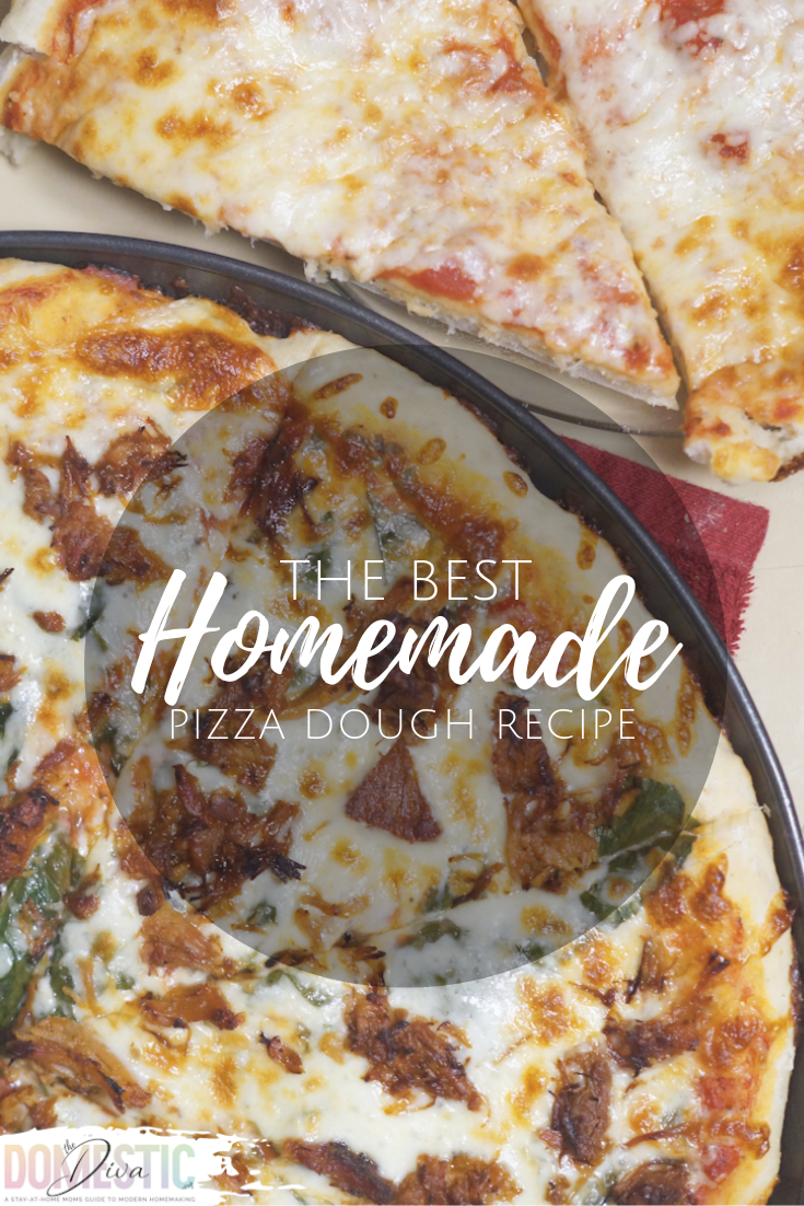 Inexpensive Homemade Pizza Dough Recipe