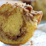 Cinnamon Swirl Coffee Cake Recipe - turn a box of yellow cake mix into a dessert the entire family will love