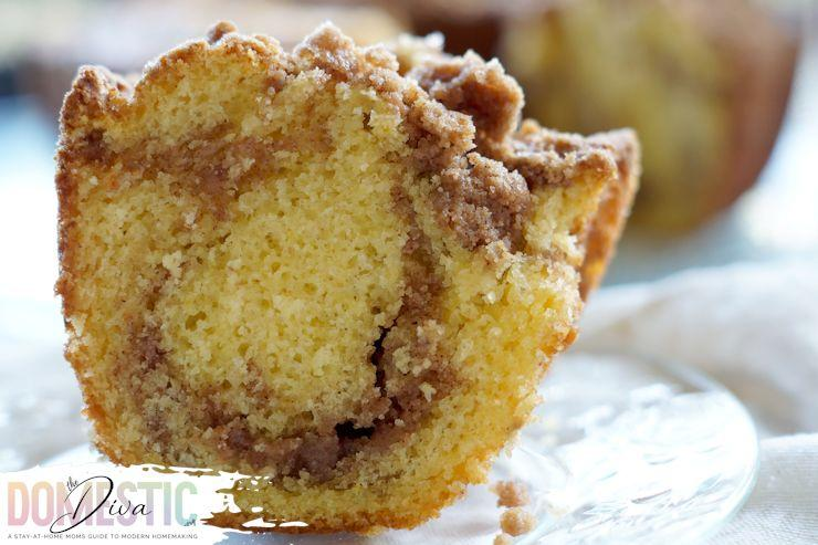 Homemade Cinnamon Swirl Coffee Cake Recipe