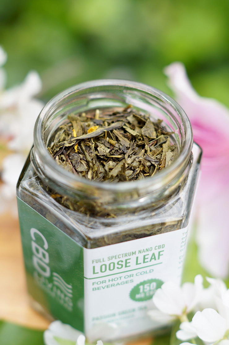 CBD Living Loose Leaf Green Tea