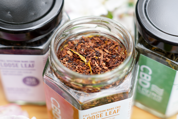 CBD Living Loose Leaf Mango Tea