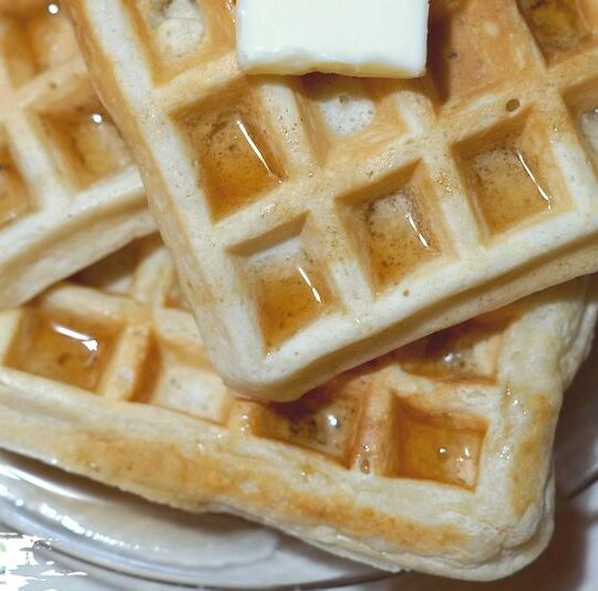 Fluffy Homemade Waffles Recipe