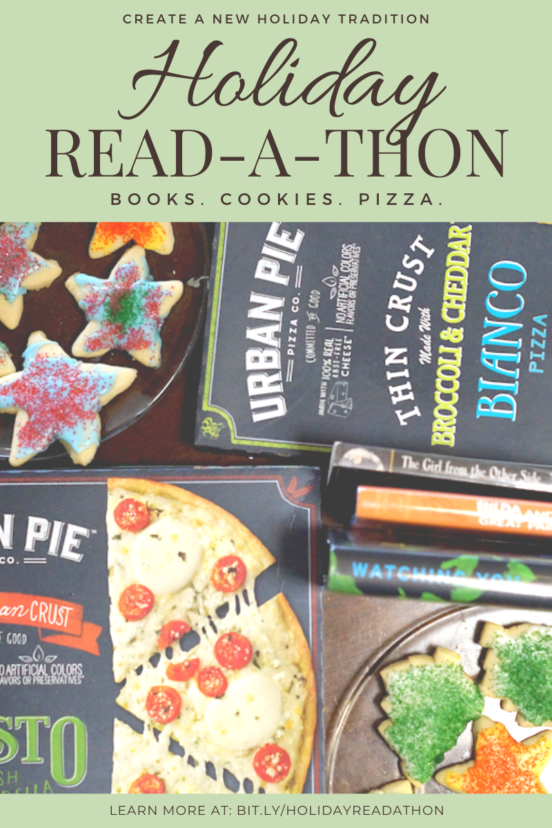Holiday Read-a-Thon: Books, Cookies, and Pizza