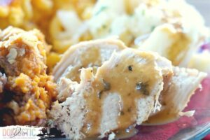 Quick and Easy Instant Pot Turkey Breast with Buttery Herb Gravy